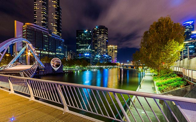 Melbourne Night Walk